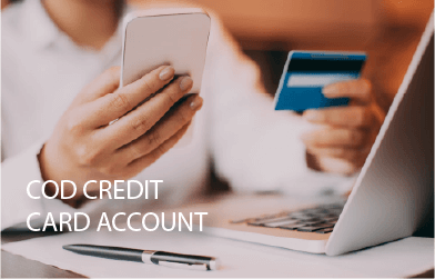 COD Credit Card Account